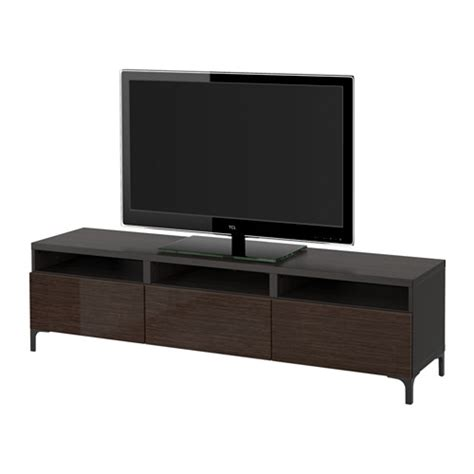 tv bench with drawers best 197 tv bench with drawers black brown selsviken high gloss brown drawer runner soft