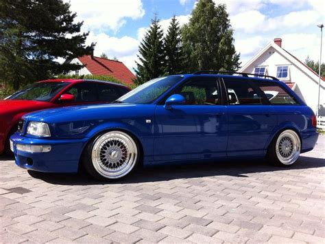 Audi Rs2 Avant For Sale Usa by Blue Audi Rs2 Avant Wagon On 18 Quot Silver Bbs Rs Cars