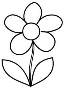 Flower Colouring Template by 25 Best Ideas About Flower Template On Paper