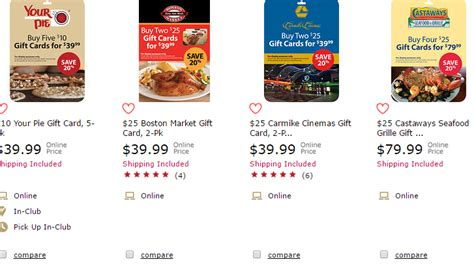 Bj Restaurant Gift Card Discount - 68 restaurant gift cards you can buy for less then face value at bjs