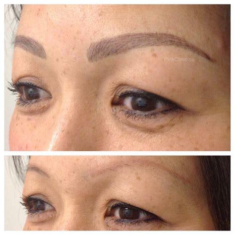 tattoo eyebrows correction eyebrow tattoo correction over old tattoo with
