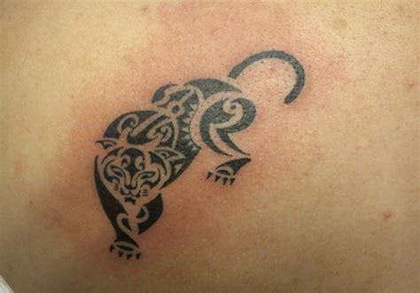 panther tribal tattoos 30 exceptional panther designs creativefan