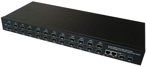 Switch Fiber Optic 24 Port china apply ftth fttb 24 sfp 2 giga port optical fiber