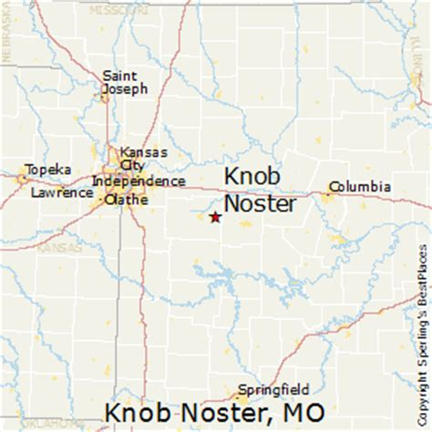 Knob Noster Mo Population by Best Places To Live In Knob Noster Missouri