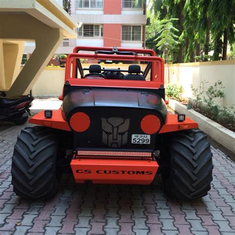 Car Modification Jeep by India S Crazily Modified Suvs