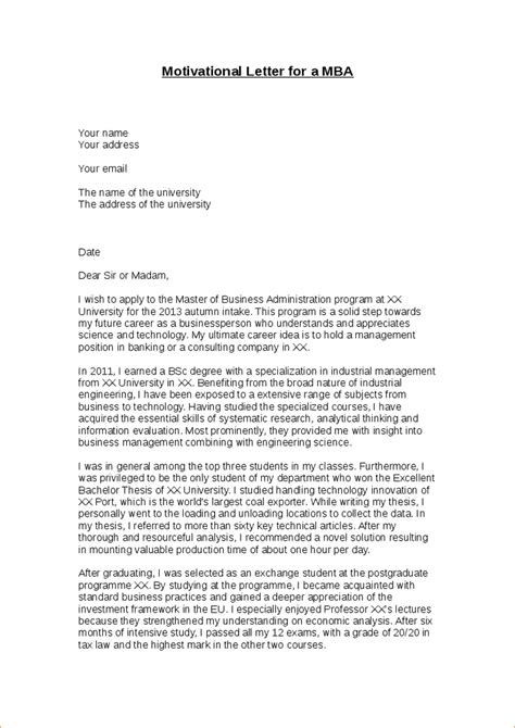 motivational letter for college application 9 letter of motivation for academic resume