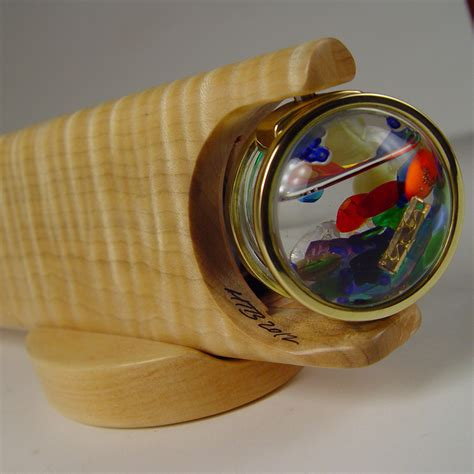 Handmade Kaleidoscope - brass wooden kaleidoscopes for sale henry bergeson