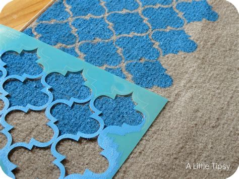 how to paint rugs paint a rug a tipsy