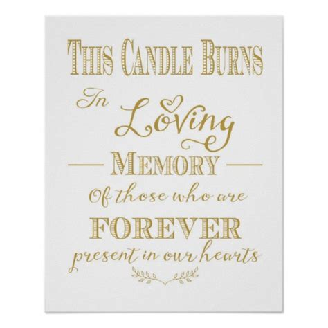 in loving memory templates this candle burns in loving memory print zazzle