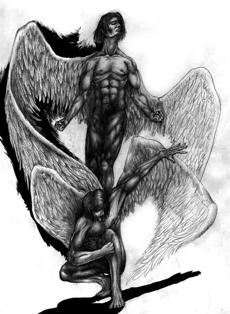 imagenes a lapiz de angeles dibujos a lapiz de angeles 4 car interior design