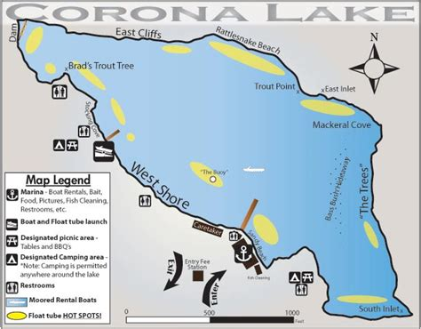 corona lake fishinglakescom