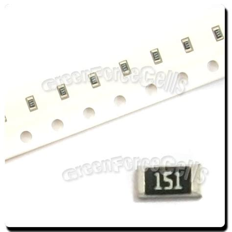 surface mount led with integrated resistor 100 x smd smt 0603 chip resistors surface mount 150r 150ohm 151 5 1 10w rohs ebay