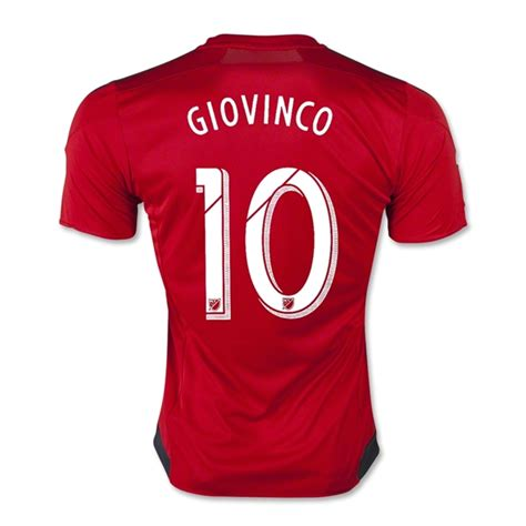 Hoodie Club 1516 15 16 toronto fc home giovinco 10 soccer jersey shirt