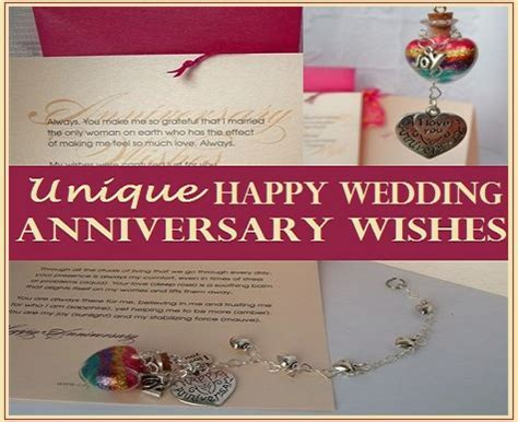 Happy Wedding Anniversary Wishes That Are Unique