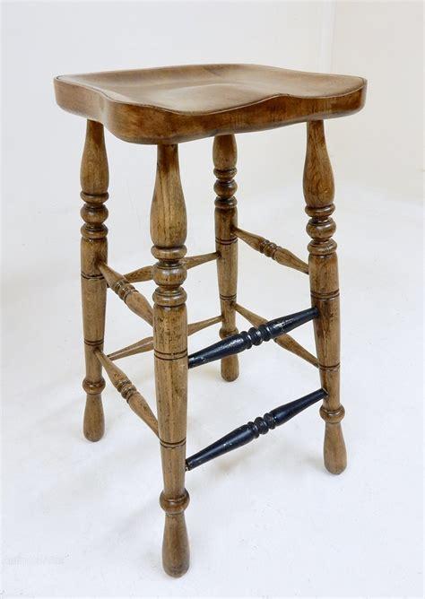 Antique Oak Bar Stools oak bar stool antiques atlas