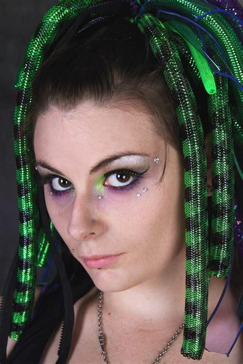 Eyeshadow Pixy No 1 cyber makeup 1 pixie dust by evomachine on deviantart