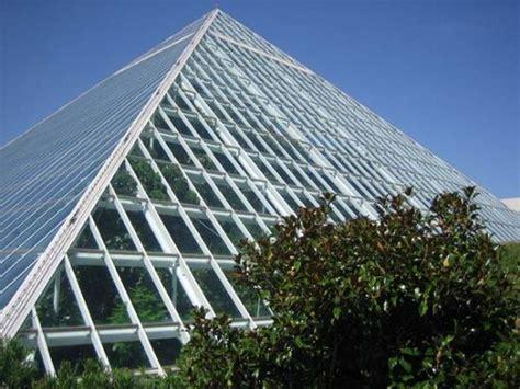 Moody Gardens Pyramids by Rainforest Pyramid
