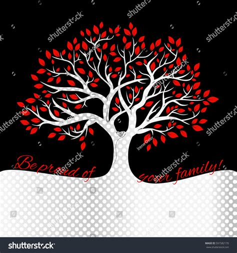Genealogical Tree Concept Family Tree Template Stock Vector 591582170 Shutterstock Genealogical Tree Concept Family Tree Template Stock Vector 565921546