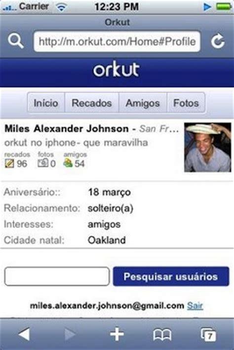orkut login mobile aprenda de uma vez por todas como acessar o seu orkut pelo