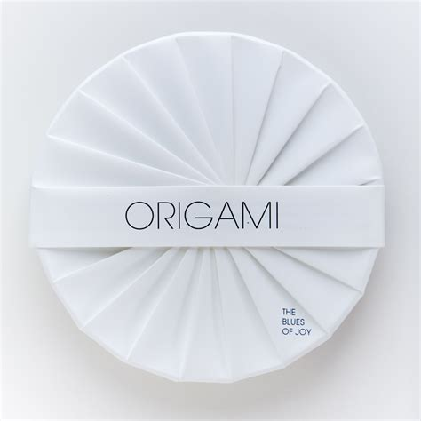 Origami Cd Cover - a history of a history of origami cd packaging