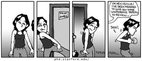 phd comics advisor phd comics sneaking past advisor s office