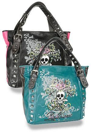 20348 Black Gold Skull Handbag 24 best rocker images on clothing and casual clothes