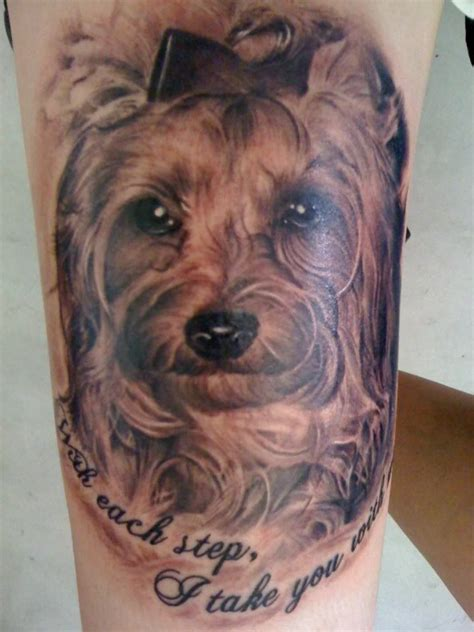 terrier tattoo designs almost as as the tat on my shoulder of scooter