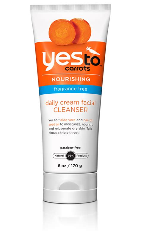 Yes To Carrots by Yes To Carrots Fragrance Free Daily Cleanser