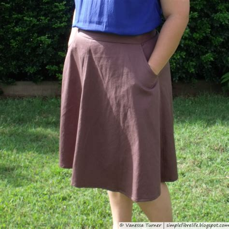 pattern review skirts sewaholic patterns hollyburn skirt 1206 pattern review by