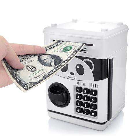 Money Bank coin saving money box jar automatic electronic counting