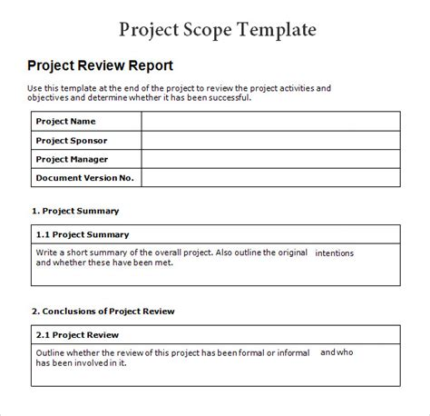 Simple Technical Project Template Best Photos Of Simple Project Template Word