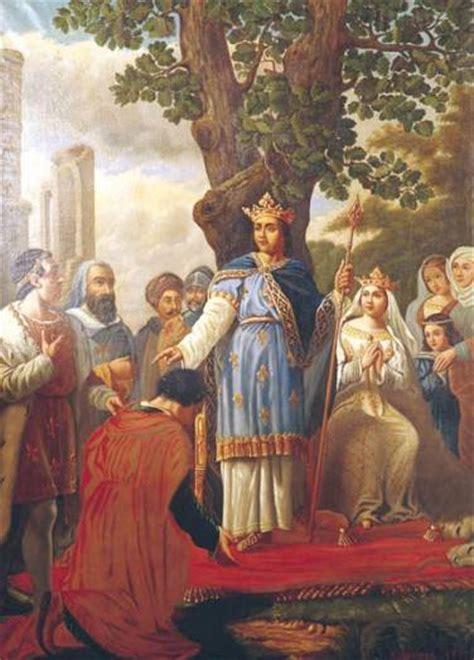 st louis  king teaches  nobles  hate mortal sin