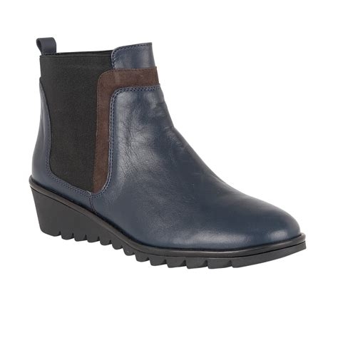 lotus boots uk lotus zinnia navy leather ankle boots boots from lotus