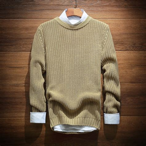 comfortable sweaters 2015 spring new hedging sweater men solid comfortable