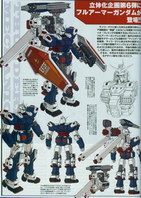 Gundam Hg Tb Fa 78 Armor Tunderbold 07885 Wb gundam thunderbolt mechanic profiles gundam kits