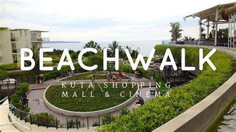 beachwalk bali kuta shopping mall  cinema xxi smell