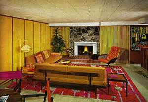70s style decor 70 s decor rugs colors wood panel walls wall