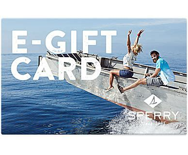 Sperry Gift Card - gift cards sperry top sider