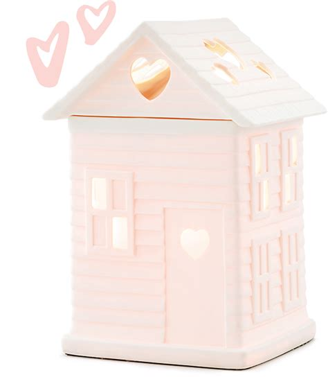 built with new built with love scentsy warmer habitat for humanity