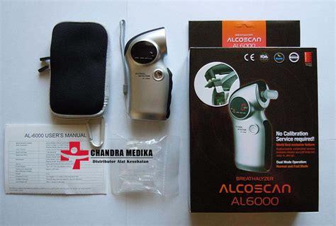 Alat Tes Alkohol alcoscan al6000 alat deteksi kadar alkohol nafas tiup