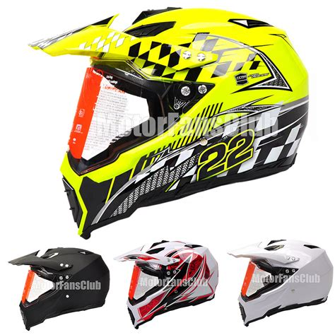 motocross helmet with visor motorcycle motocross road atv dirt bike helmet with