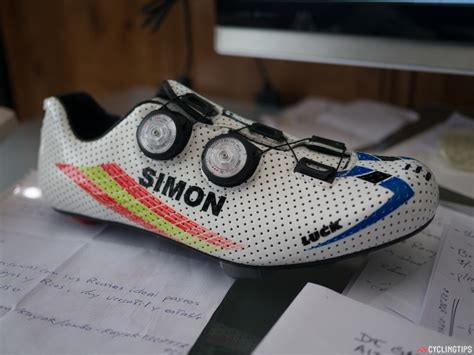 Handmade Cycling Shoes - powermeter shoes and a factory tour the