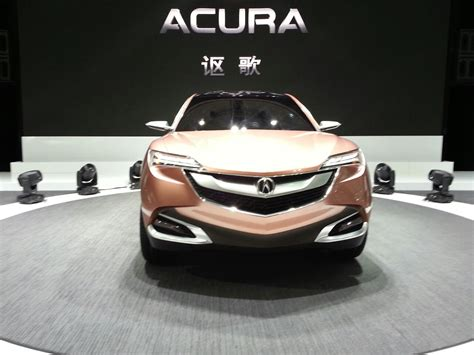 who is the maker of acura auto shanghai 2013 live acura suv x concept gets