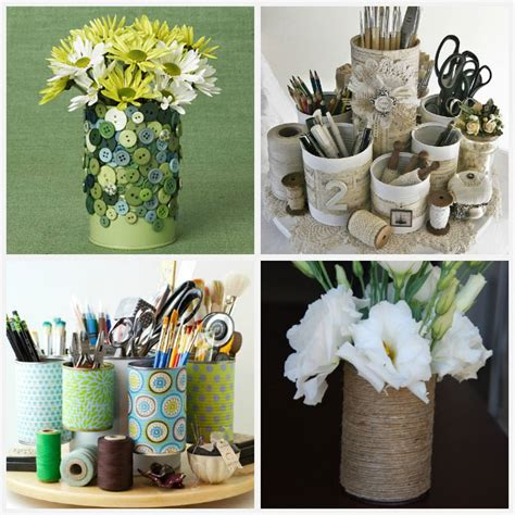 tin decorations tin can crafts 22 ideas that are thrifty and