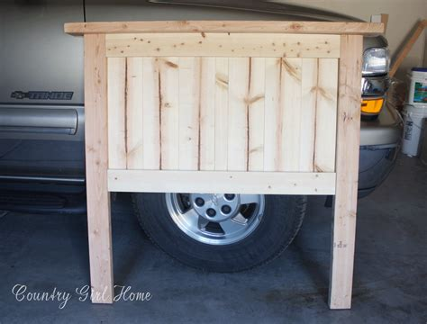 making a twin headboard country girl home how to make a solid wood twin headboard