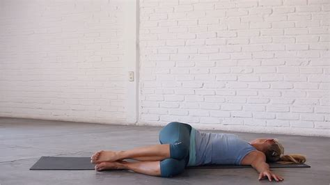 reclining twist crankworx whistler 2016 yoga to halve your recovery time