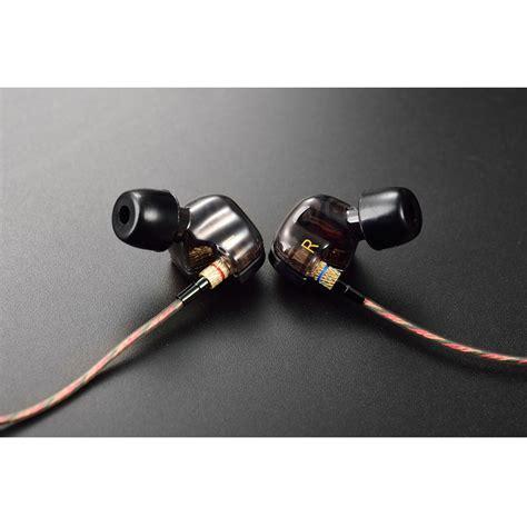 Diskon Headset Adss Colokan 3 5 Mm Earphone knowledge zenith copper driver in ear sports earphones 3 5mm kz ate silver black
