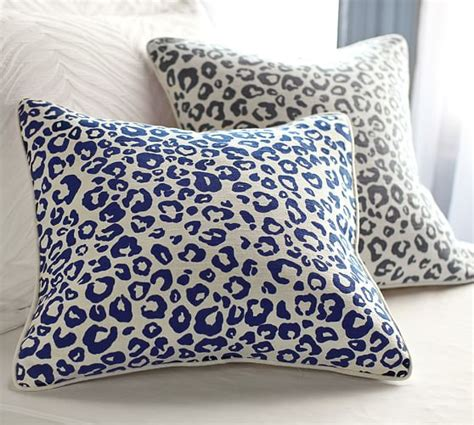 pottery barn sofa pillows cheetah pillow cover pottery barn