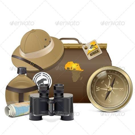 Safari Binoculars Clipart 187 Tinkytyler Org Stock Photos