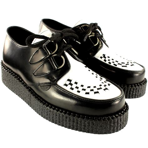 underground shoes womens underground creepers wulfrun leather chunky